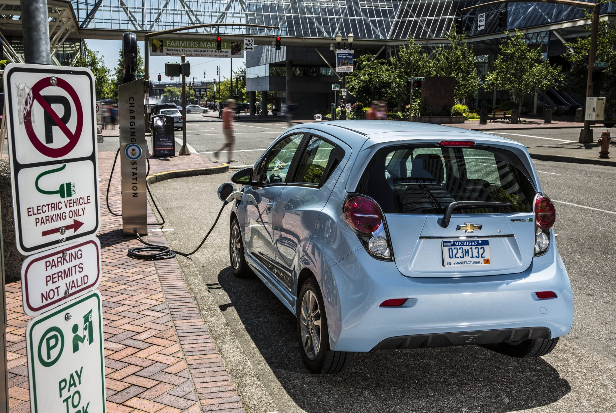 Updates for the 2015 Chevy Spark EV