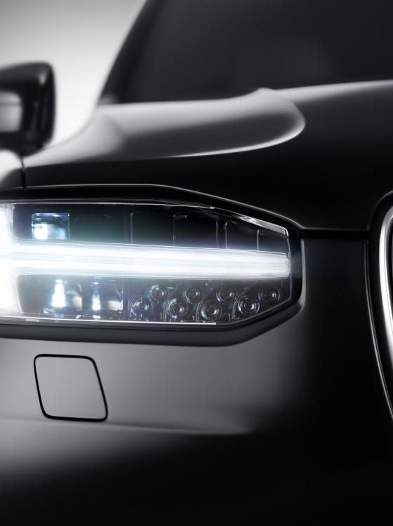 Volvo Confirms XC90 Built on SPA, Shows Off Thor's Hammer Headlights - The News Wheel