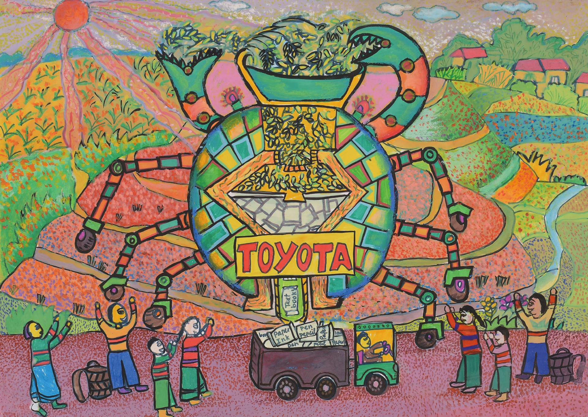 Toyota Dream Car Art Contest Wraps Up In Tokyo The News Wheel
