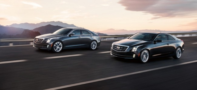 2015-Cadillac-ATS-coupe-black-road-exterior-two