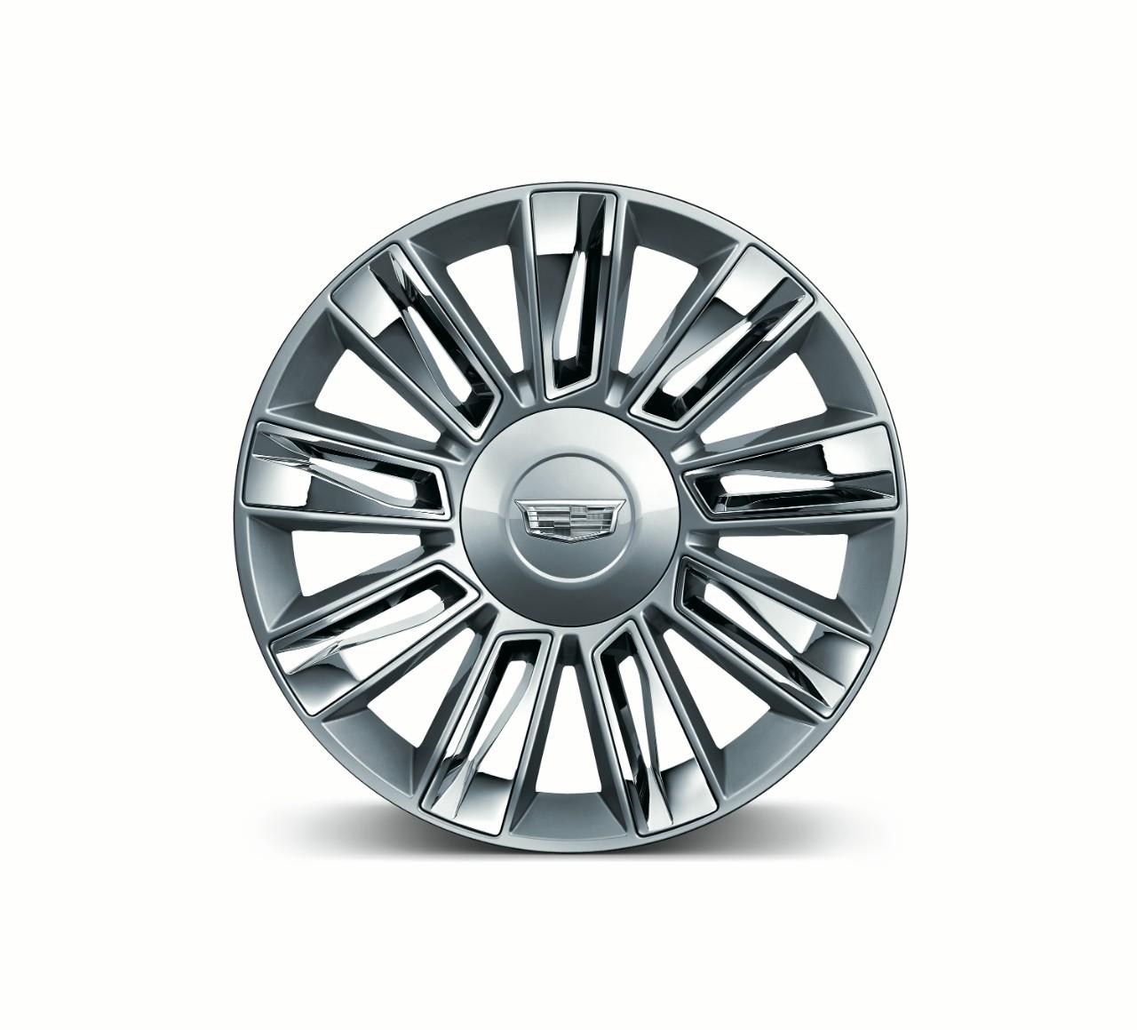 2015 Cadillac Escalade Platinum wheel