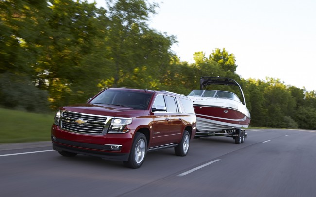 2015 Chevy Tahoe and Suburban