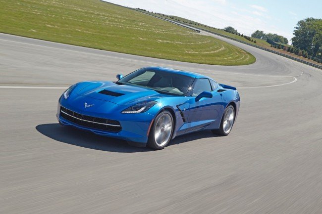 The Corvette's new eight-speed automatic transmission equals speed and efficiency.