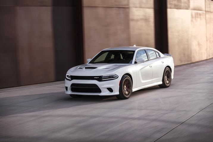 The 2015 Dodge Charger SRT Hellcat made its public debut at the 20th Annual Woodward Dream Cruise.
