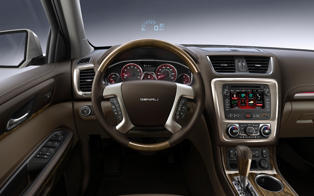 updates for the 2015 GMC Acadia