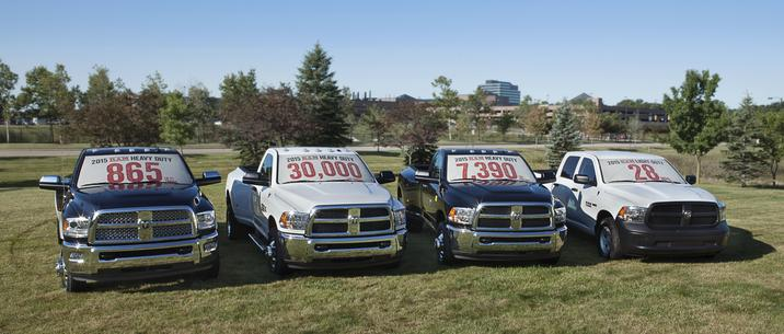 2015 Ram Heavy Duty trucks