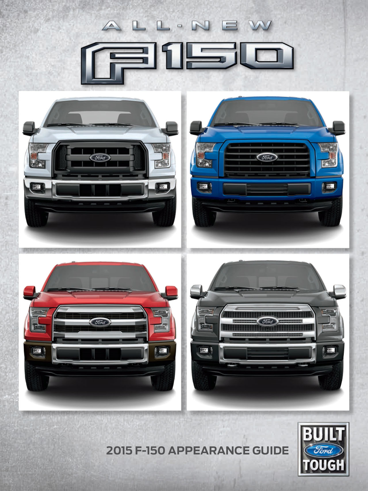 2015 F-150 Appearance Guide