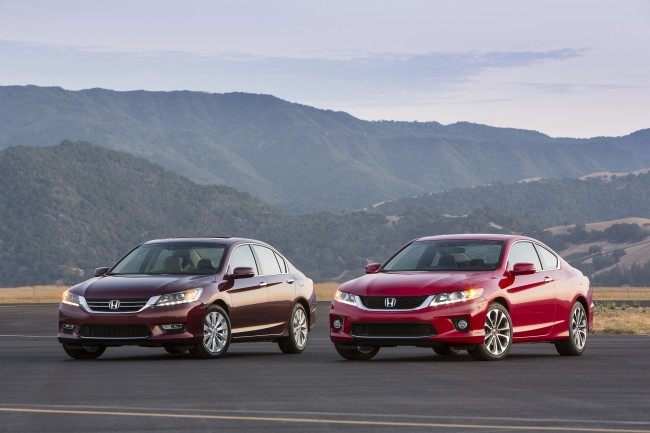 2015 Honda Accord Coupe and Sedan