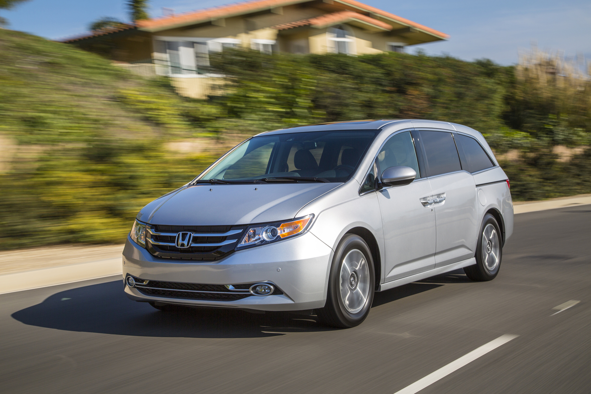 The 2015 Honda Odyssey