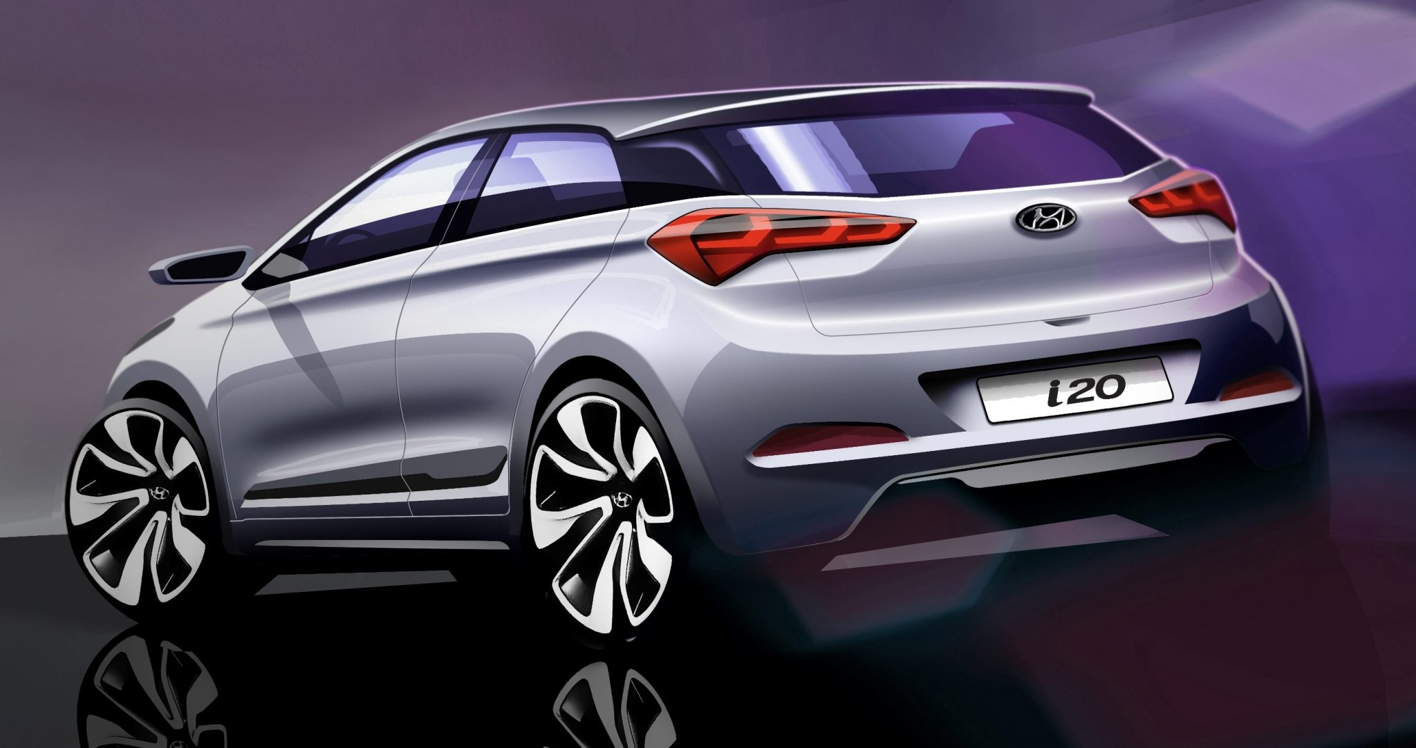 All-New Hyundai i20 Sketches