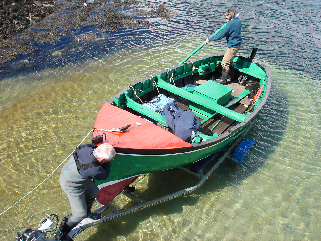 Make sure your boat gets in the water... and your vehicle stays out of it! Photo: WordShore