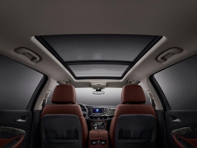 Buick Envision Interior | 2.0-Liter Turbocharged I4 EcoTec Engine