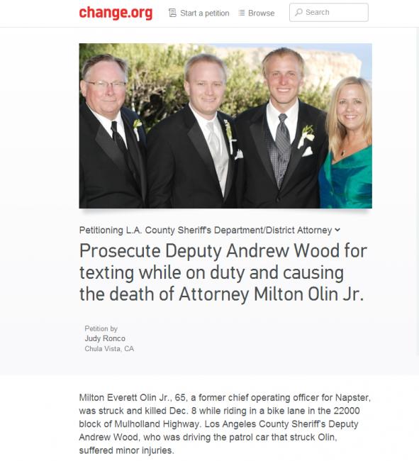 prosecute Deputy Andrew Wood