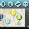 Connected Car map Integration Screenshot