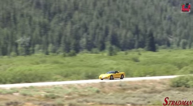 81-Year-Old Woman Hits 166 MPH in a Corvette