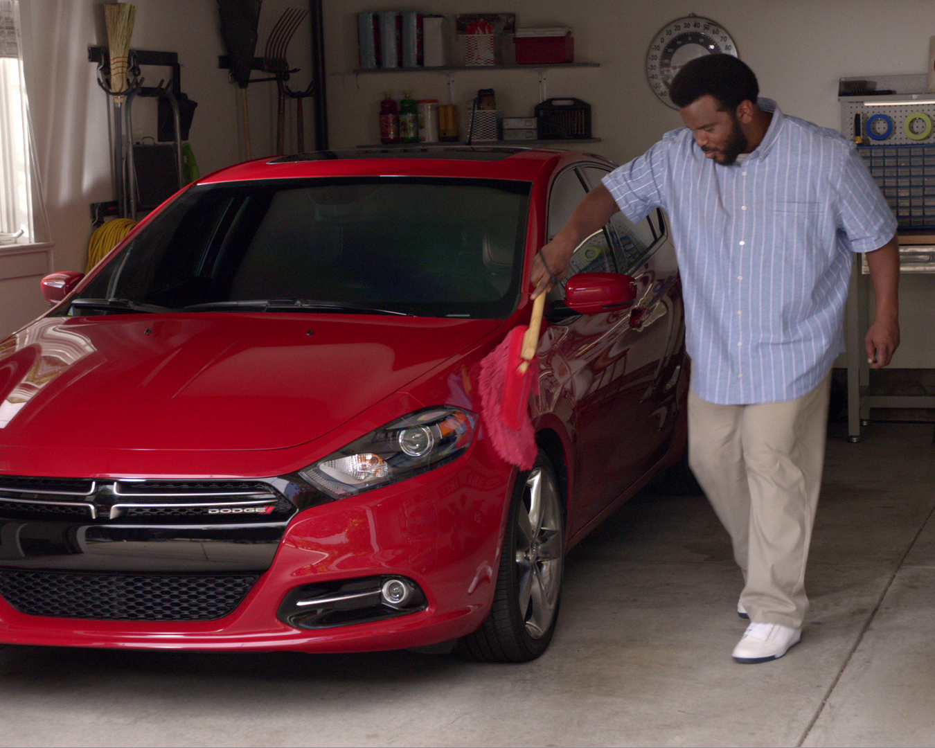 "Craig Robinson and Jake Johnson Star in ""Don't Touch My Dart"" Ads"
