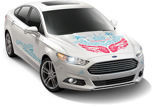 Ford Warriors in Pink Drive the Conversation 2014 Fusion Giveaway