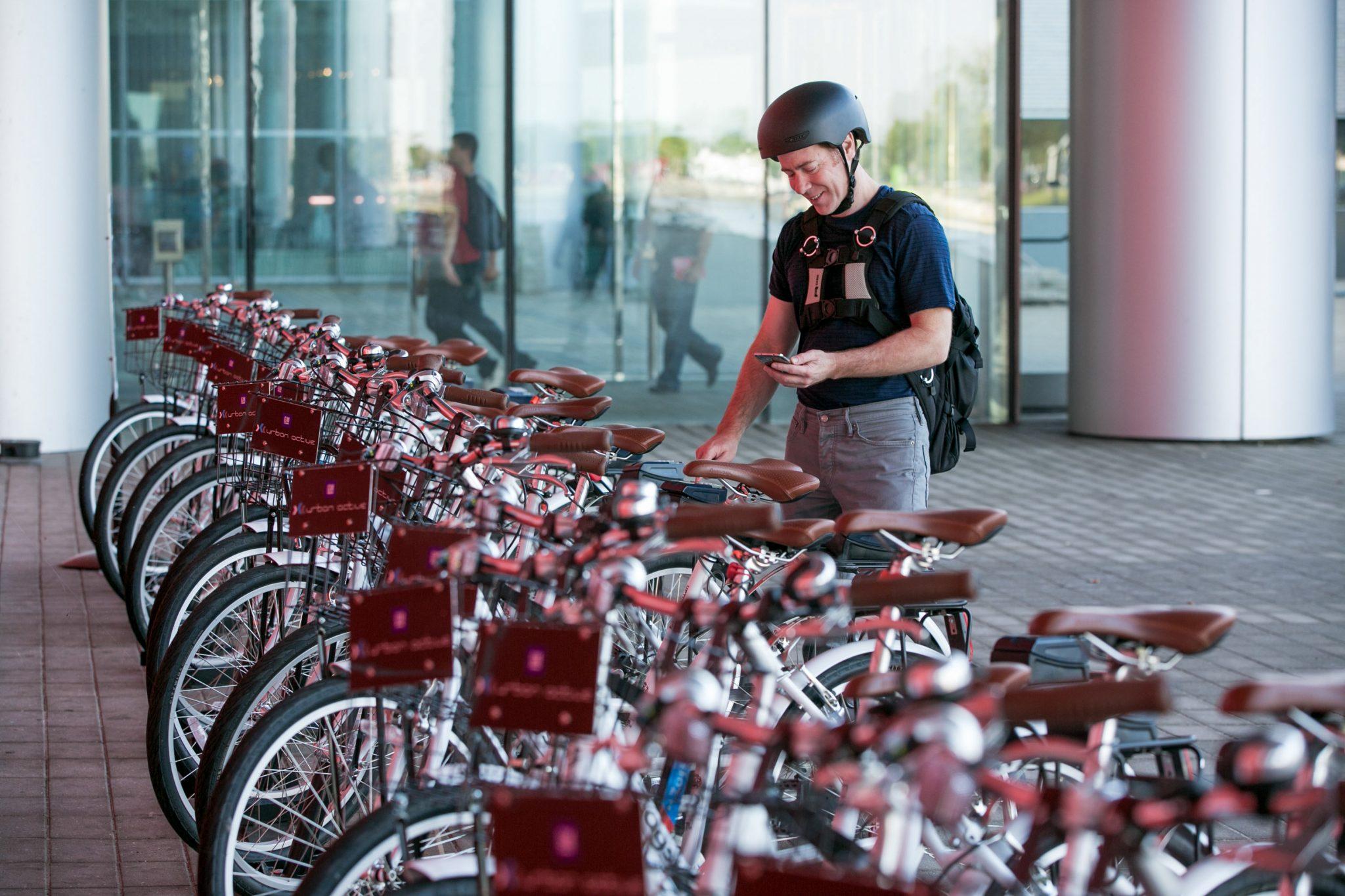 Warren Technical Center's Bike Share Program