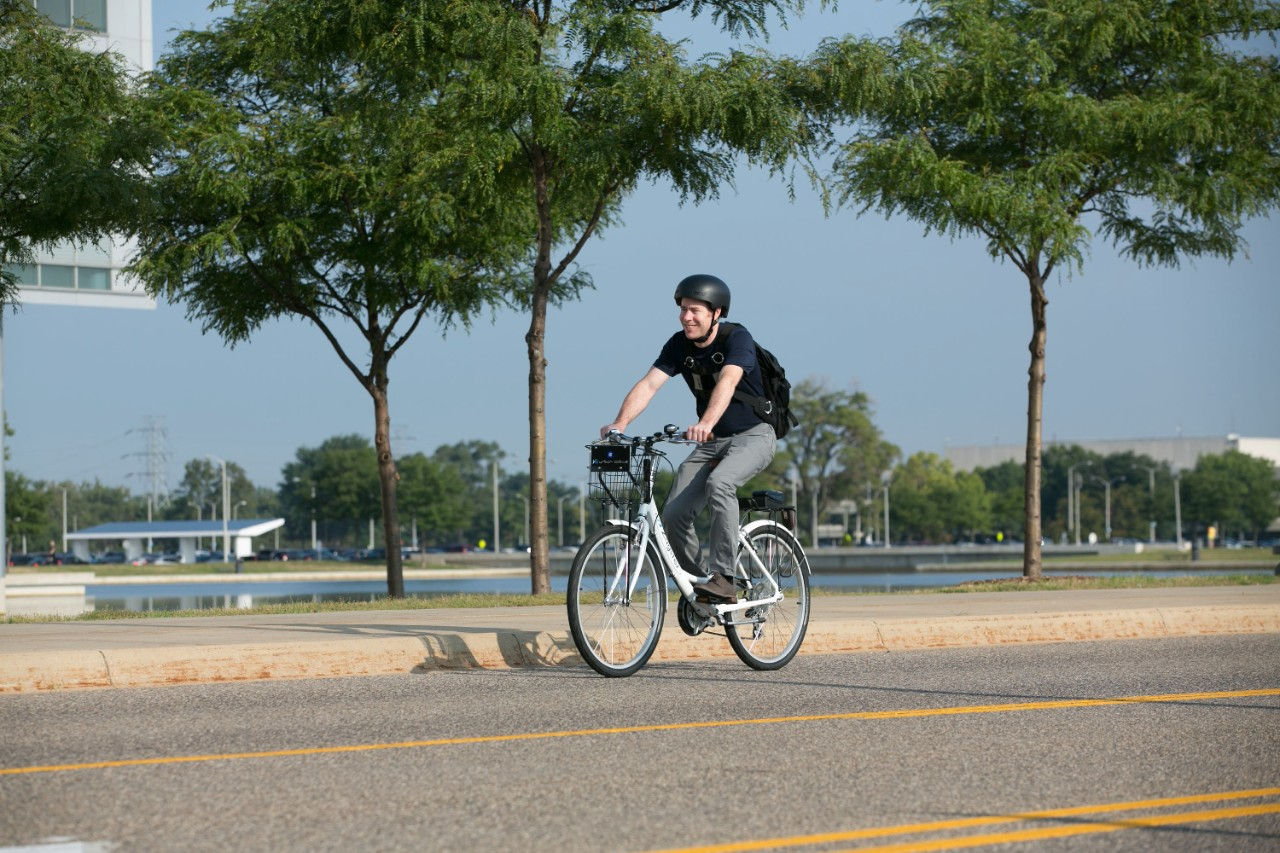 GM Announces Warren Technical Center's Bike Share Program