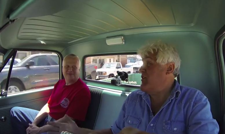 Jay Leno Drives a 1967 Chevy C10 Restomod