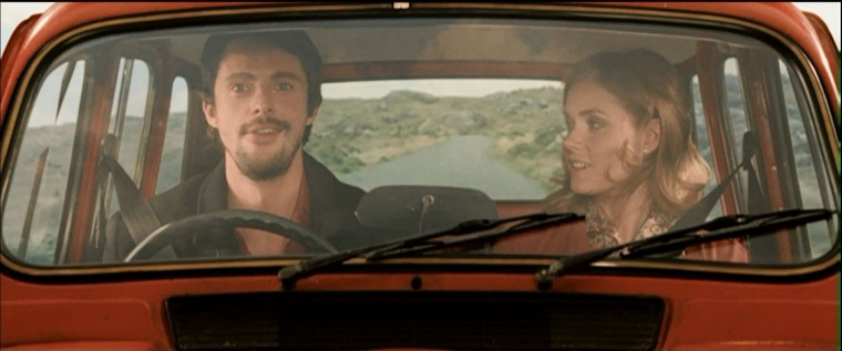 Leap Year Review Amy Adams Red Car Driving Passenger Movie