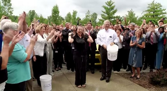 Mary Barra Takes the ALS Ice Bucket Challenge