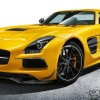 Mercedes SLS AMG Coupe Black Series 1