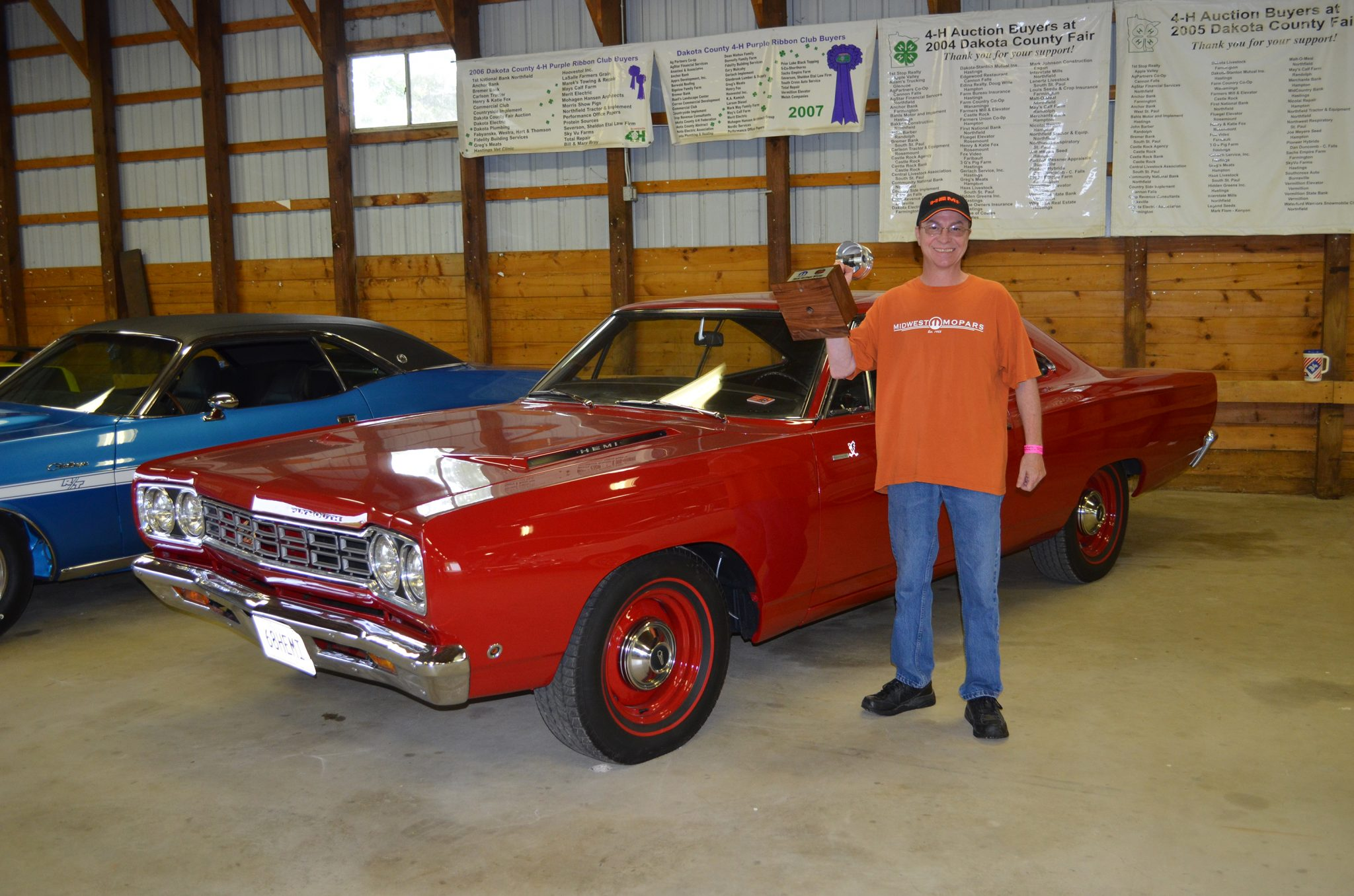 Top Eliminator HEMI Heritage winner Patrick O'Leary's 1968 Plymouth Road Runner
