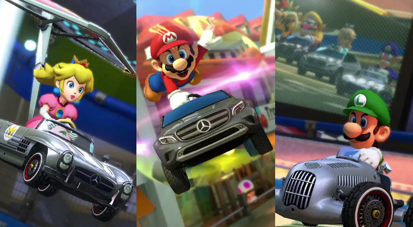 Mercedes-Benz in Mario Kart 8