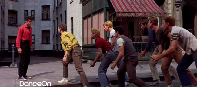 Electric Car Etiquette - West Side Story dance scene