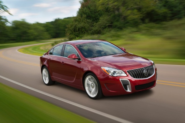 2015 Buick Regal GS Changes