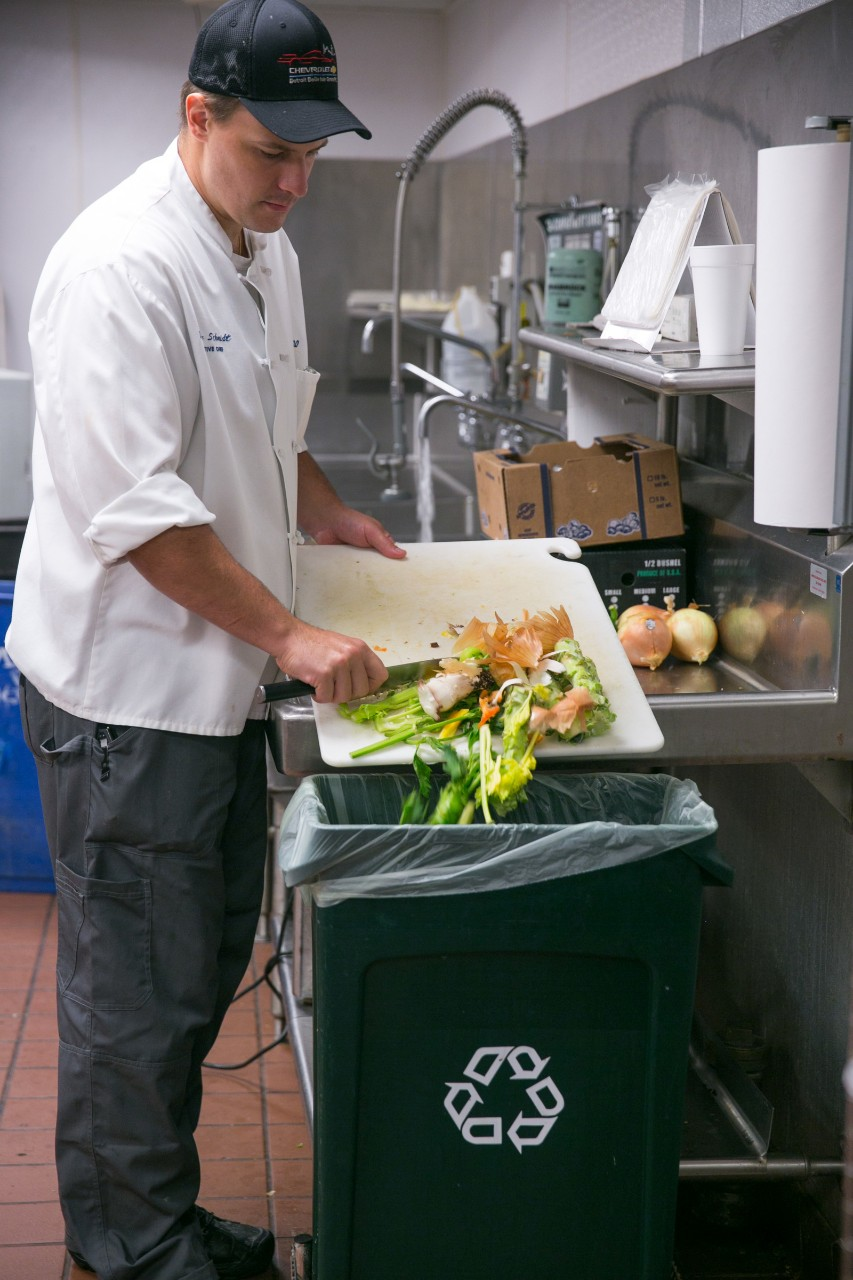 GM World Headquarters starts composting