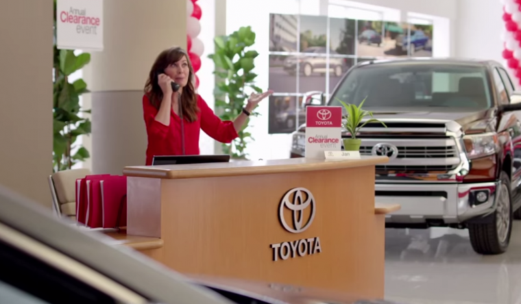 Jan In Toyota Commercials.html | Autos Weblog