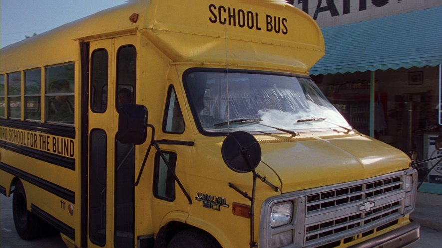 Chevy Van school bus: Road Trip Review