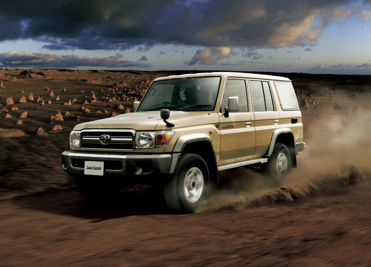 Land Cruiser 70 ISIS inquiry