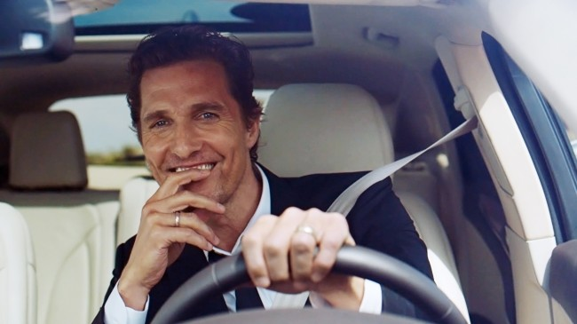 Matthew McConaughey | Lincoln will skip Super Bowl XLIX