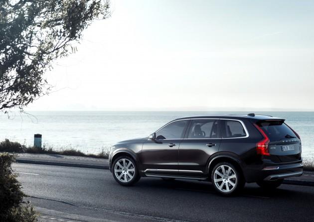 Volvo sales in 2015