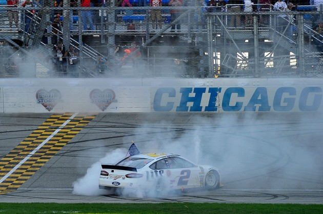 Keselowski Wins First Chase for the Sprint Cup Race