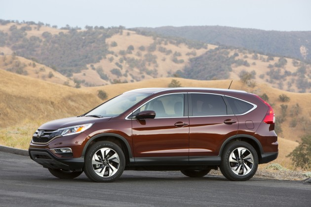 The 2015 CR-V, which led the way for the Honda November sales records set last month