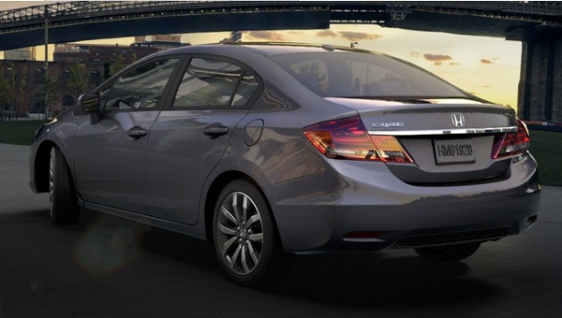2014 Honda Civic Sedan rear