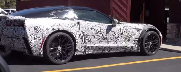 2015 Corvette Z06 spy shots