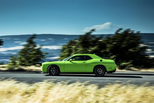 Today, Chrysler Group announced the EPA-estimated 2015 Dodge Challenger SRT Hellcat fuel economy.