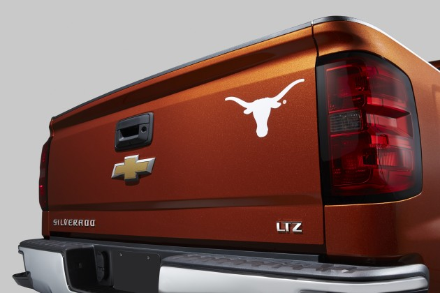2015 Silverado University of Texas Edition