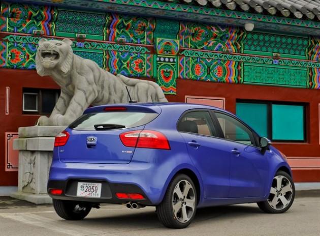 New 2015 Kia Rio five-door hatchback