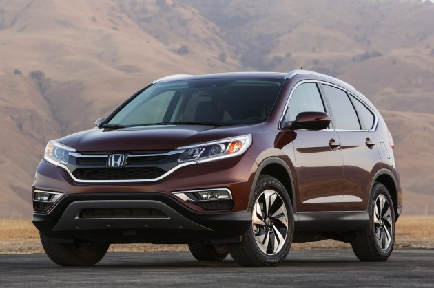 Official first look at the 2015 Honda CR-V released today