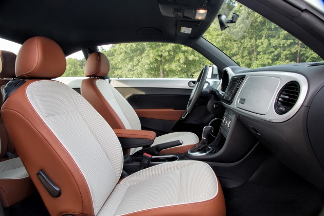 2015 VW Beetle interior