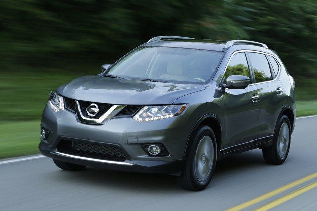 2015 Nissan Rogue pricing
