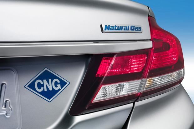 The Honda Civic CNG is the only option compressed natural gas car buyers currently have