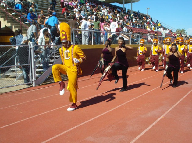 Central State University Marching Band, one of 37 different HBCU bands that you can vote for