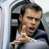 angry driver man frustrated road rage mad